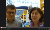 Cat Schrier interviews Nick Hayes at Weftec