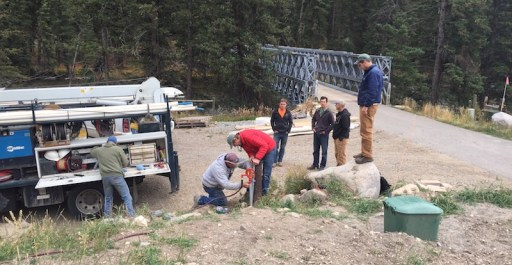 Setting up a Groundwater Network